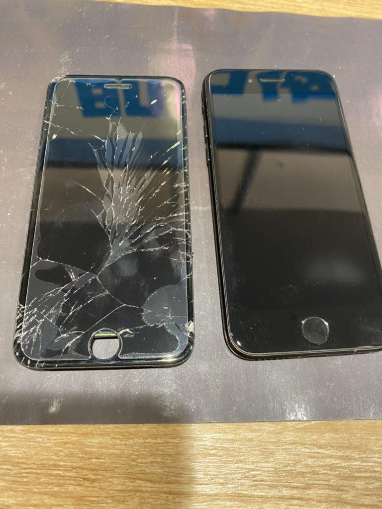 iPhone7/ 画面割れ 交換